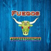 This is the restaurant logo for Fuegos - Steak•Tapas•Vegan
