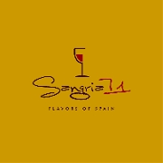 This is the restaurant logo for Sangria 71
