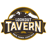 This is the restaurant logo for Lookout Tavern