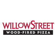 This is the restaurant logo for Willow Street Wood-Fired Pizza - Los Gatos