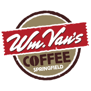 This is the restaurant logo for Wm Van's Coffee House
