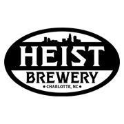 This is the restaurant logo for Heist Brewery