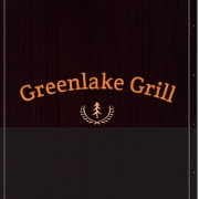 This is the restaurant logo for Greenlake Grill