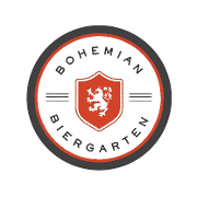 This is the restaurant logo for Bohemian Biergarten