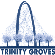 This is the restaurant logo for Trinity Groves