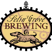 This is the restaurant logo for Selin's Grove Brewing Co.