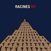This is the restaurant logo for RACINES NY