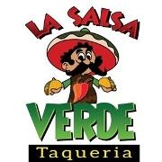 This is the restaurant logo for La Salsa Verde