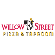 This is the restaurant logo for Willow Street Wood-Fired Pizza and Taproom