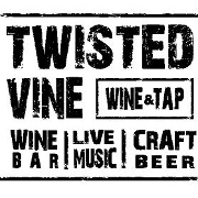 This is the restaurant logo for Twisted Vine