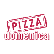 This is the restaurant logo for Pizza Domenica