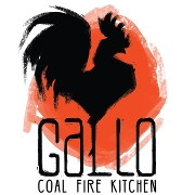 This is the restaurant logo for Gallo Coal Fire Kitchen