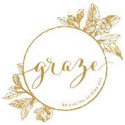 This is the restaurant logo for Graze by Sam