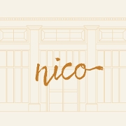 This is the restaurant logo for Nico