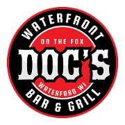 This is the restaurant logo for Doc's On The Fox