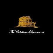 This is the restaurant logo for The Colosseum Restaurant