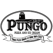 This is the restaurant logo for Pungo Pizza & Ice Cream