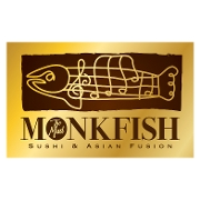 This is the restaurant logo for The Mad Monkfish