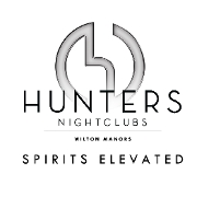 This is the restaurant logo for Hunters Nightclub