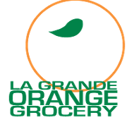 This is the restaurant logo for LGO Grocery