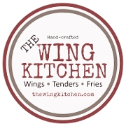 This is the restaurant logo for The Wing Kitchen