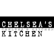 This is the restaurant logo for Chelsea's Kitchen