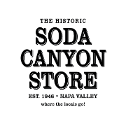 This is the restaurant logo for Soda Canyon Store