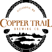 This is the restaurant logo for Copper Trail Brewing