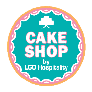 This is the restaurant logo for LGO Cake Shop