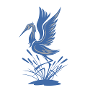 Restaurant logo for The Blue Heron Restaurant