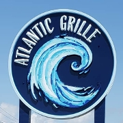 This is the restaurant logo for Atlantic Grille
