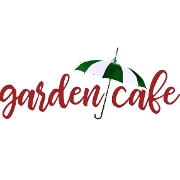 This is the restaurant logo for Garden Cafe
