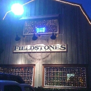 This is the restaurant logo for Fieldstones