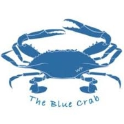 This is the restaurant logo for Blue Crab Restaurant