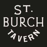 This is the restaurant logo for St. Burch Tavern
