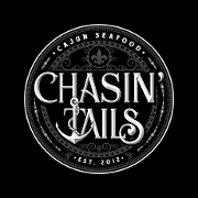 This is the restaurant logo for CENTREVILLE - Chasin' Tails