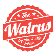 This is the restaurant logo for The Walrus Oyster & Ale House