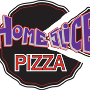 Restaurant logo for HomeSlice Pizza