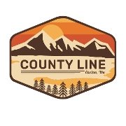 This is the restaurant logo for County Line Eat & Drink on Woodin