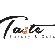 This is the restaurant logo for Taste Bakery Cafe