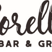 This is the restaurant logo for Sorelle Bar & Grill
