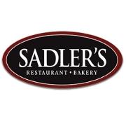 This is the restaurant logo for Sadler's Ordinary Restaurant & Bakery