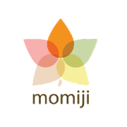 This is the restaurant logo for Momiji