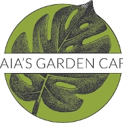 This is the restaurant logo for Gaia's Garden Cafe