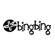This is the restaurant logo for Bing Bing Dim Sum