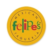 This is the restaurant logo for Felipe's Taqueria