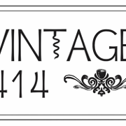 This is the restaurant logo for Vintage 414