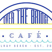 This is the restaurant logo for Over the Bridge Cafe