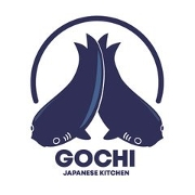 This is the restaurant logo for Gochi Japanese Kitchen
