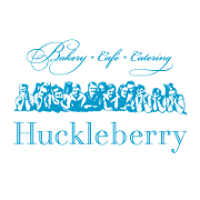 This is the restaurant logo for Huckleberry Bakery & Cafe